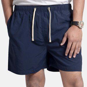 OLGYN Men's Navy Blue Swim Shorts